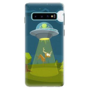 Plastové pouzdro iSaprio Ufouni 01 na mobil Samsung Galaxy S10