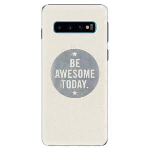 Plastové pouzdro iSaprio Awesome 02 na mobil Samsung Galaxy S10