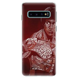 Plastové pouzdro iSaprio Bruce Lee na mobil Samsung Galaxy S10