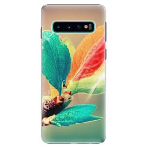 Plastové pouzdro iSaprio Podzim 02 na mobil Samsung Galaxy S10