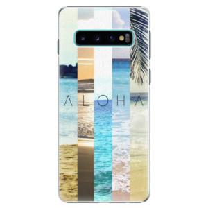 Plastové pouzdro iSaprio Aloha 02 na mobil Samsung Galaxy S10