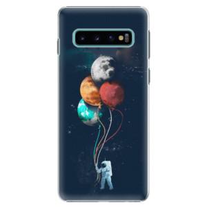 Plastové pouzdro iSaprio Balónky 02 na mobil Samsung Galaxy S10