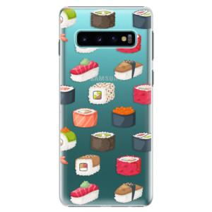 Plastové pouzdro iSaprio Sushi na mobil Samsung Galaxy S10 - poslední kousek za tuto cenu