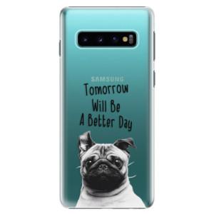 Plastové pouzdro iSaprio Better Day 01 na mobil Samsung Galaxy S10
