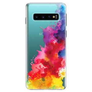 Plastové pouzdro iSaprio Color Splash 01 na mobil Samsung Galaxy S10