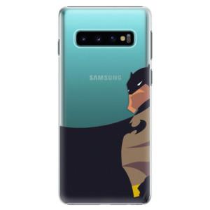 Plastové pouzdro iSaprio BaT Komiks na mobil Samsung Galaxy S10