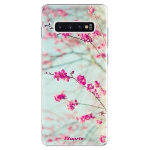 Plastové pouzdro iSaprio Blossom 01 na mobil Samsung Galaxy S10 Plus