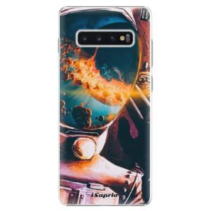Plastové pouzdro iSaprio Astronaut 01 na mobil Samsung Galaxy S10 Plus