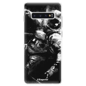 Plastové pouzdro iSaprio Astronaut 02 na mobil Samsung Galaxy S10 Plus