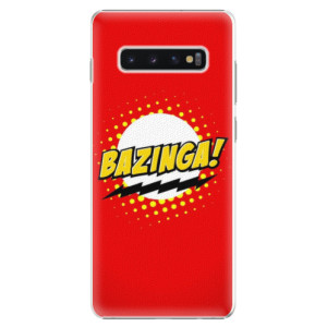 Plastové pouzdro iSaprio Bazinga 01 na mobil Samsung Galaxy S10 Plus