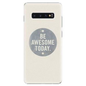 Plastové pouzdro iSaprio Awesome 02 na mobil Samsung Galaxy S10 Plus