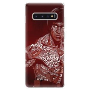 Plastové pouzdro iSaprio Bruce Lee na mobil Samsung Galaxy S10 Plus