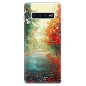 Plastové pouzdro iSaprio Podzim 03 na mobil Samsung Galaxy S10 Plus