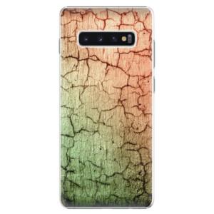 Plastové pouzdro iSaprio Rozpraskaná Zeď 01 na mobil Samsung Galaxy S10 Plus