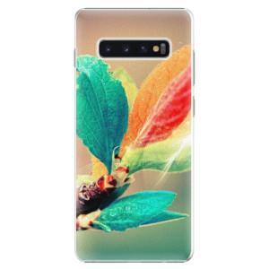 Plastové pouzdro iSaprio Podzim 02 na mobil Samsung Galaxy S10 Plus