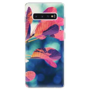 Plastové pouzdro iSaprio Podzim 01 na mobil Samsung Galaxy S10 Plus