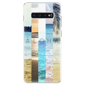 Plastové pouzdro iSaprio Aloha 02 na mobil Samsung Galaxy S10 Plus