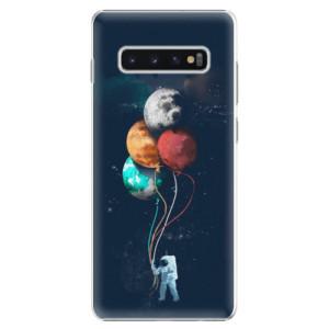 Plastové pouzdro iSaprio Balónky 02 na mobil Samsung Galaxy S10 Plus