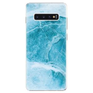 Plastové pouzdro iSaprio Blue Marble na mobil Samsung Galaxy S10 Plus
