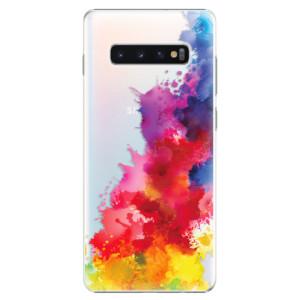 Plastové pouzdro iSaprio Color Splash 01 na mobil Samsung Galaxy S10 Plus