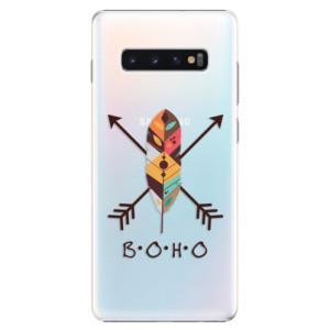 Plastové pouzdro iSaprio BOHO na mobil Samsung Galaxy S10 Plus