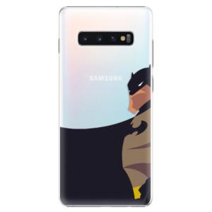 Plastové pouzdro iSaprio BaT Komiks na mobil Samsung Galaxy S10 Plus