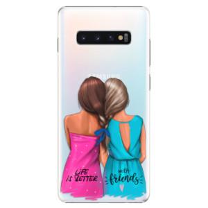 Plastové pouzdro iSaprio Best Friends na mobil Samsung Galaxy S10 Plus