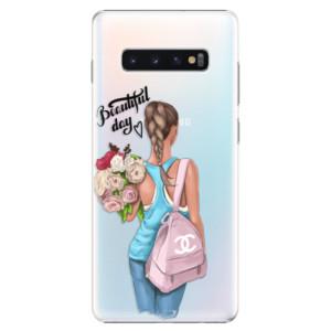 Plastové pouzdro iSaprio Beautiful Day na mobil Samsung Galaxy S10 Plus