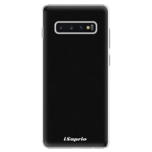 Plastové pouzdro iSaprio 4Pure černé na mobil Samsung Galaxy S10 Plus