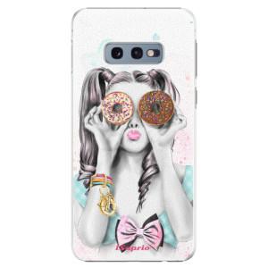 Plastové pouzdro iSaprio Donutky Očiska 10 na mobil Samsung Galaxy S10e