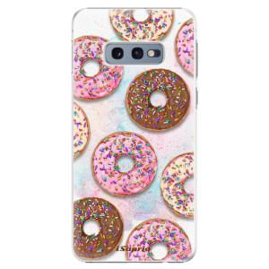Plastové pouzdro iSaprio Donutky Všude 11 na mobil Samsung Galaxy S10e
