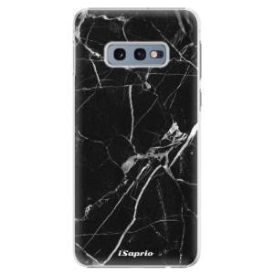 Plastové pouzdro iSaprio Black Marble 18 na mobil Samsung Galaxy S10e