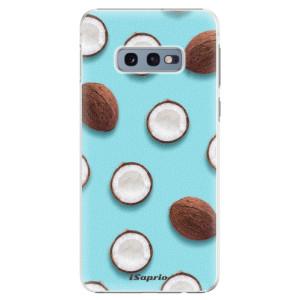 Plastové pouzdro iSaprio Kokos 01 na mobil Samsung Galaxy S10e