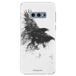 Plastové pouzdro iSaprio Havran 01 na mobil Samsung Galaxy S10e