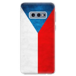 Plastové pouzdro iSaprio Česká Vlajka na mobil Samsung Galaxy S10e