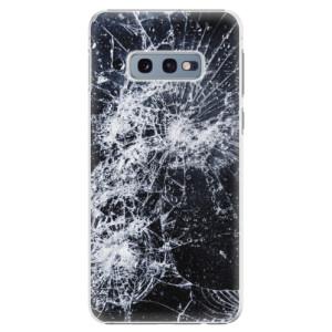 Plastové pouzdro iSaprio Praskliny na mobil Samsung Galaxy S10e