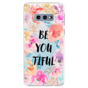 Plastové pouzdro iSaprio BeYouTiful na mobil Samsung Galaxy S10e