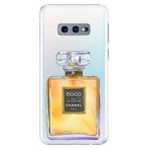Plastové pouzdro iSaprio Chanel Gold na mobil Samsung Galaxy S10e