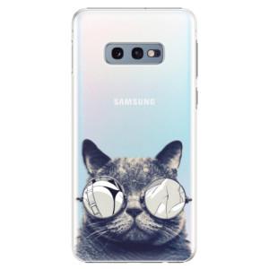 Plastové pouzdro iSaprio Šílená Číča 01 na mobil Samsung Galaxy S10e