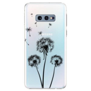 Plastové pouzdro iSaprio Tři Černé Pampelišky na mobil Samsung Galaxy S10e