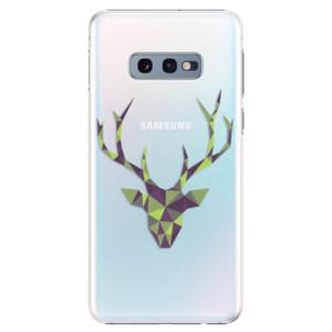 Plastové pouzdro iSaprio Zelený Jelínek na mobil Samsung Galaxy S10e