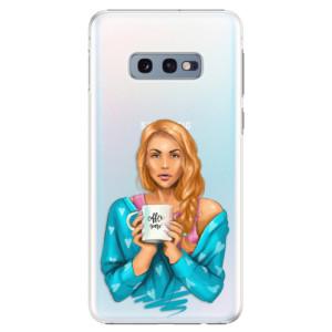 Plastové pouzdro iSaprio Coffee Now Zrzka na mobil Samsung Galaxy S10e
