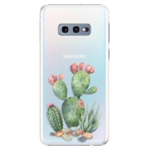 Plastové pouzdro iSaprio Kaktusy 01 na mobil Samsung Galaxy S10e