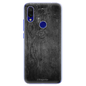 Plastové pouzdro iSaprio Black Wood 13 na mobil Xiaomi Redmi 7