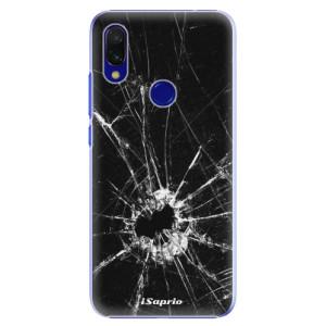 Plastové pouzdro iSaprio Broken Glass 10 na mobil Xiaomi Redmi 7