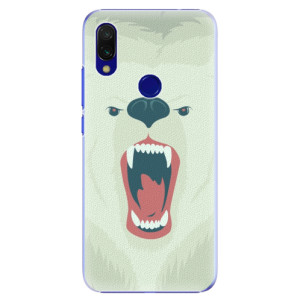 Plastové pouzdro iSaprio Naštvanej Medvěd na mobil Xiaomi Redmi 7