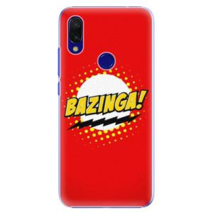Plastové pouzdro iSaprio Bazinga 01 na mobil Xiaomi Redmi 7