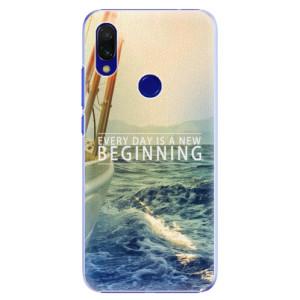 Plastové pouzdro iSaprio Beginning na mobil Xiaomi Redmi 7
