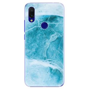 Plastové pouzdro iSaprio Blue Marble na mobil Xiaomi Redmi 7