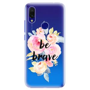 Plastové pouzdro iSaprio Be Brave na mobil Xiaomi Redmi 7